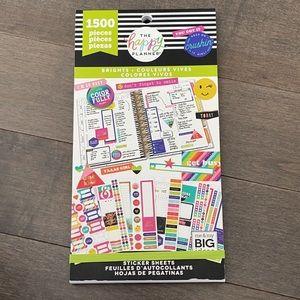 HAPPY PLANNER Brights Sticker Book